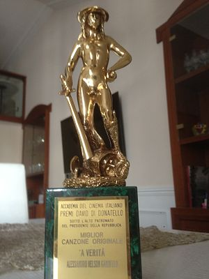 David di Donatello - A David di Donatello awarded in 2014