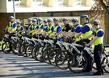 Community Policing  Wikipedia Police Officers And Pcsos Of West Midlands Police Prepare To Go On Cycle  Patrol Community Meetings Were Used To Decide Which Areas Needed  Patrolling The  Teaching Essay Writing To High School Students also Essay Samples For High School  Science Topics For Essays