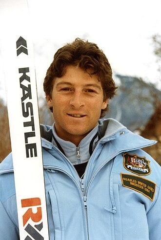 Australia at the 1984 Winter Paralympics - Australian coach James Milner at the 1984 Winter Paralympics