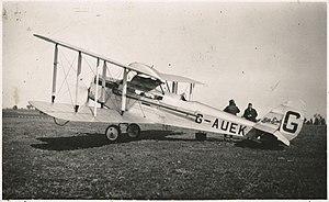 """Frank Neale - de Havilland DH.50A """"Bell Bird"""""""