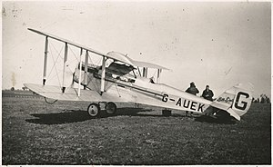 De Havilland DH.50 - DH.50A G-AUEK