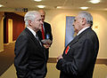 Defense.gov News Photo 100609-F-6655M-011 - Secretary of Defense Robert M. Gates talks with Turkish Defense Minister Mehmet Vecdi Gonul at the North Atlantic Treaty Organization Defense.jpg