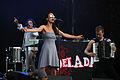 DelaDap feat Tania Saedi - Donauinselfest Vienna 2013 01.jpg