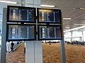 Delhi T3 terminal - Airline display.jpg