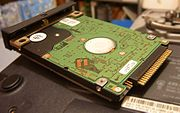 Hard disk from a Dell Latitude