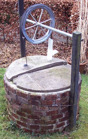 Rope pump - Rigid valve rope pump
