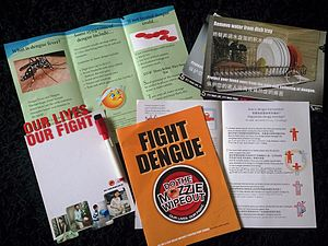National Environment Agency - Marketing materials distributed to the public on dengue prevention