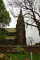 Denholme St Paul's Church from the graveyard - geograph.org.uk - 1324427.jpg