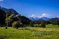 Der Schwangau bei Füssen im Allgäu mit Schloss Hohenschwanstein (9829399343).jpg