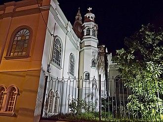 Desamparados - The cathedral in downtown Desamparados