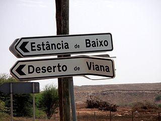 Estância de Baixo Settlement in Boa Vista, Cape Verde