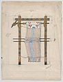 Design for a Loom, possibly for the Ballet 'Helen of Sparta' (1913) MET DP858625.jpg