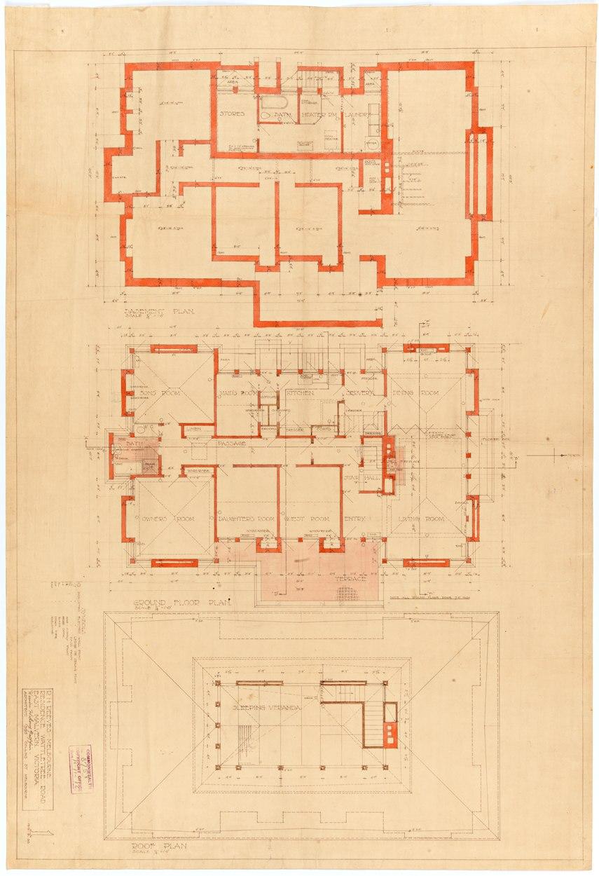 Design for a Suburban Residence Exhibit Plan 3.jpeg
