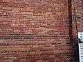 Details of eroded brick, Mill St, Distillery District, 2015 01 23 (3) (16349646331).jpg