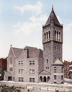 Church of Christ, Scientist - The church building, Huntington Ave., Boston, 1900