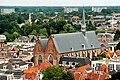 Deventer, Blick vom Turm der Lebuïnuskerk zur Broederenkerk.jpg