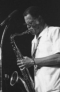 Dexter Gordon American jazz tenor saxophonist