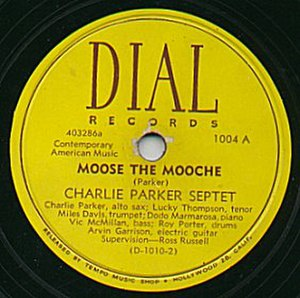Dial Records (1946) - Label of Dial record by Charlie Parker