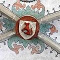 Die Marienkirche in Bad Mergentheim wurde aufwändig restauriert. Schlussstein im gotischen Kreuzrippengewölbe.jpg