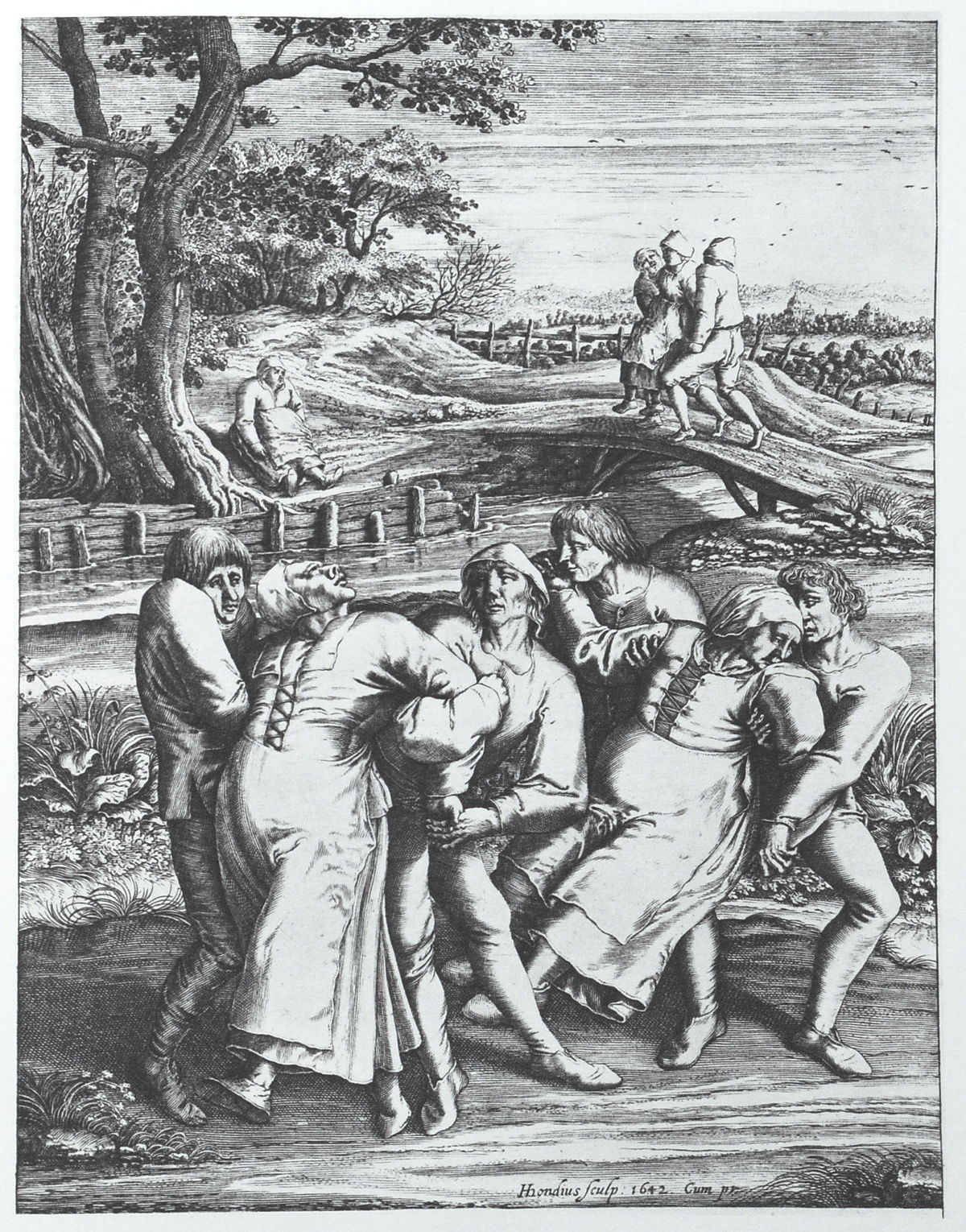The About The Dancing Plague