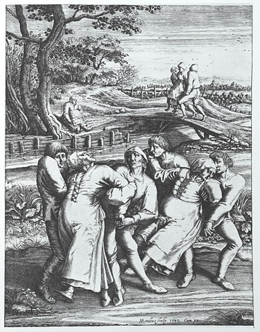 חריטה על עץ - מגיפת הריקודים בשטרסבורג [ויקיפדיה] - הפודקאסט עושים היסטוריה