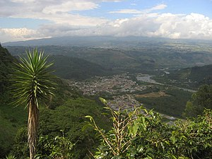 Orosí - Orosí seen from the South