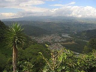 Orosi, Cartago district in Costa Rica