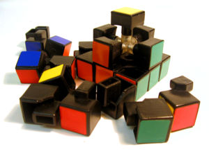 Inside of a Rubik's Cube