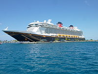 Disney Dream docked in the Bahamas 02.JPG