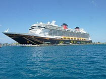 Disney Dream docked in the Bahamas 02.JPG