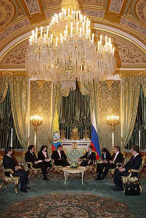 Dmitry Medvedev with Rafael Correa-4