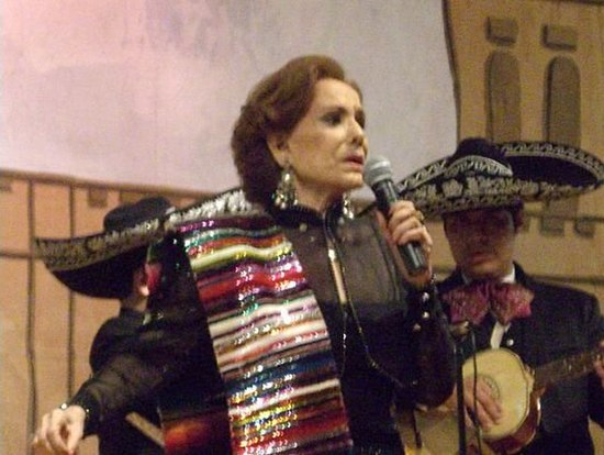 Do%C3%B1a Rosita Quintana Show en New York 2007
