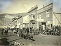 Dogteam in Front Street, Dawson, Yukon Territory, June 1899 (MEED 52).jpg