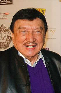 Dolphy Filipino actor and comedian