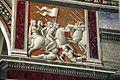 Domenico ghirlandaio, monocromi della cappella tornabuoni (annuncio a zaccaria), 1485-90, 02.jpg