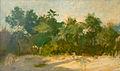 Domingo Garcia y Vazquez (Spain, 1859 -Rio de Janeiro, January 18, 1912). Landscape of Rio de Janeiro probably.jpg