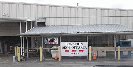 Donation center in Florida