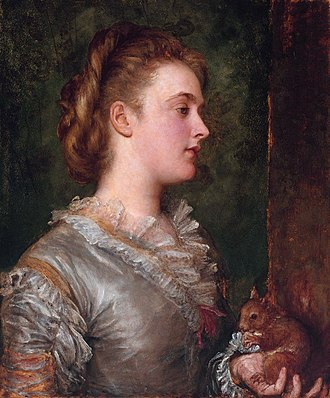 Dorothy Tennant - Portrait of Lady Dorothy Stanley, by George Frederick Watts