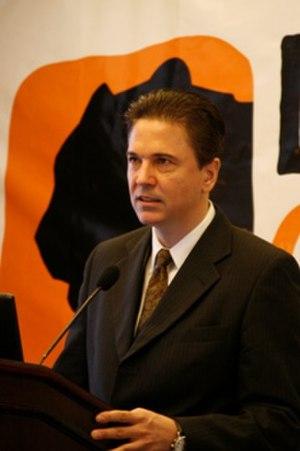 Douglas Clayton - Clayton presenting to Leopard Capital shareholders