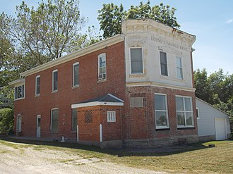 National Register of Historic Places listings in Cedar County, Iowa - Image: Downey Savings Bank
