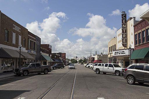 Downtown El Reno Oklahoma 5-31-2014