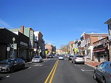 Downtown Mount Holly Along High Street