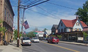 Pine Bush, New York - Downtown Pine Bush