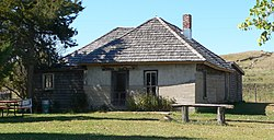 Dowse sod house from NE 1.JPG