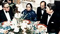 Dr. Shahzad Rizvi interpreting for President Reagan and former Secretary of State Kissinger, Dec 1982.jpg
