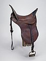Dragoon Officer's Saddle by Thornton Grimsley.jpg