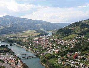 Dravograd - Image: Dravograd 2001c