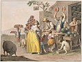 Drawing, Water color; A Neapolitan watermelon shop, 1828 (CH 18329119).jpg