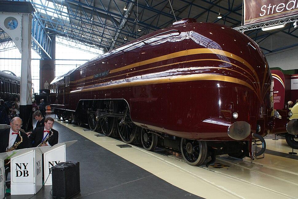 Duchess of Hamilton streamlined - 2009-05-19