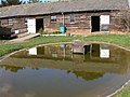 Duck pond and stables Buckland Farm - geograph.org.uk - 379196.jpg
